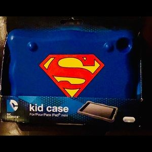 Brand NEW DC Comics Superman mini iPad case!